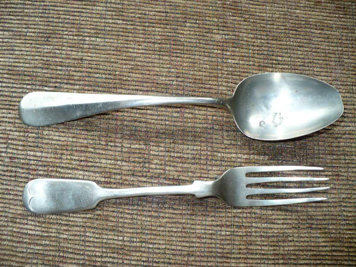 Antiguos cubiertos plata reuss en mercado libre for Cubiertos plata