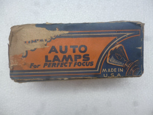 antiguos focos para autos hecho en u.s.a. perfect