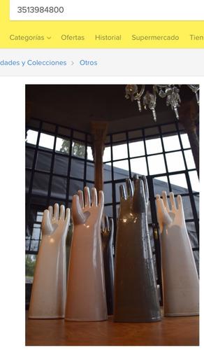 antiguos frascos de perfumes art nouveau de vidrio y peltre