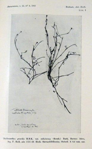 antiguos herbarios argentinos en gran bretaña 1963 no envio