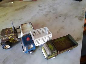 Chapa jeep camiones Antiguos Los Tres etc Juguetes precio X PXiuZTwOkl