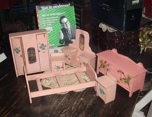 antiguos muebles infantil juguete fundacion eva peron (4063)