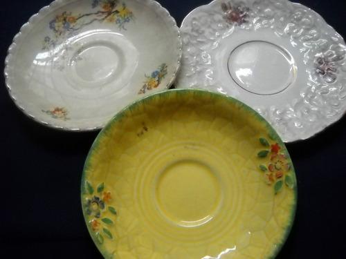 antiguos platos lozas