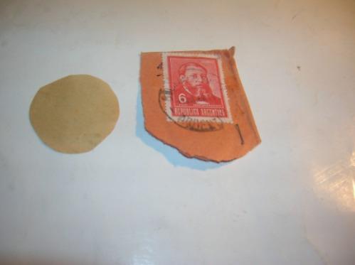 antiguos sellos estampillas jose hernadez 2 centavos correo
