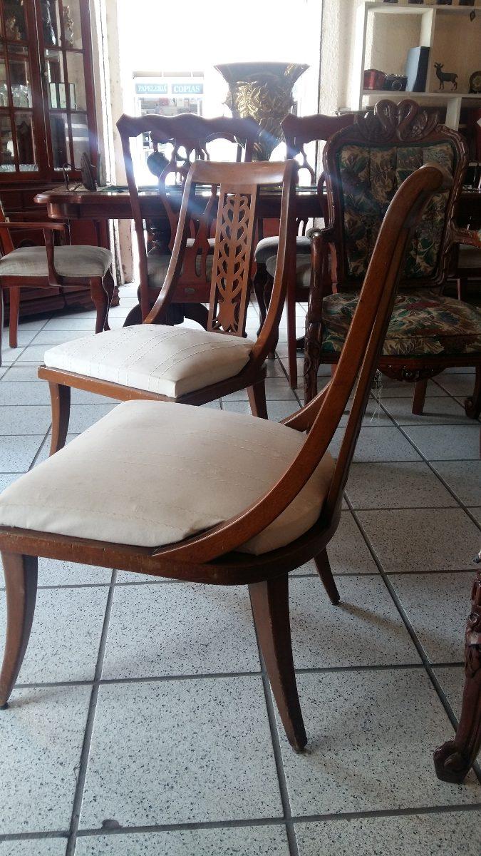 Antiguos sillones de cedro 3 en mercado libre for Sillones antiguos