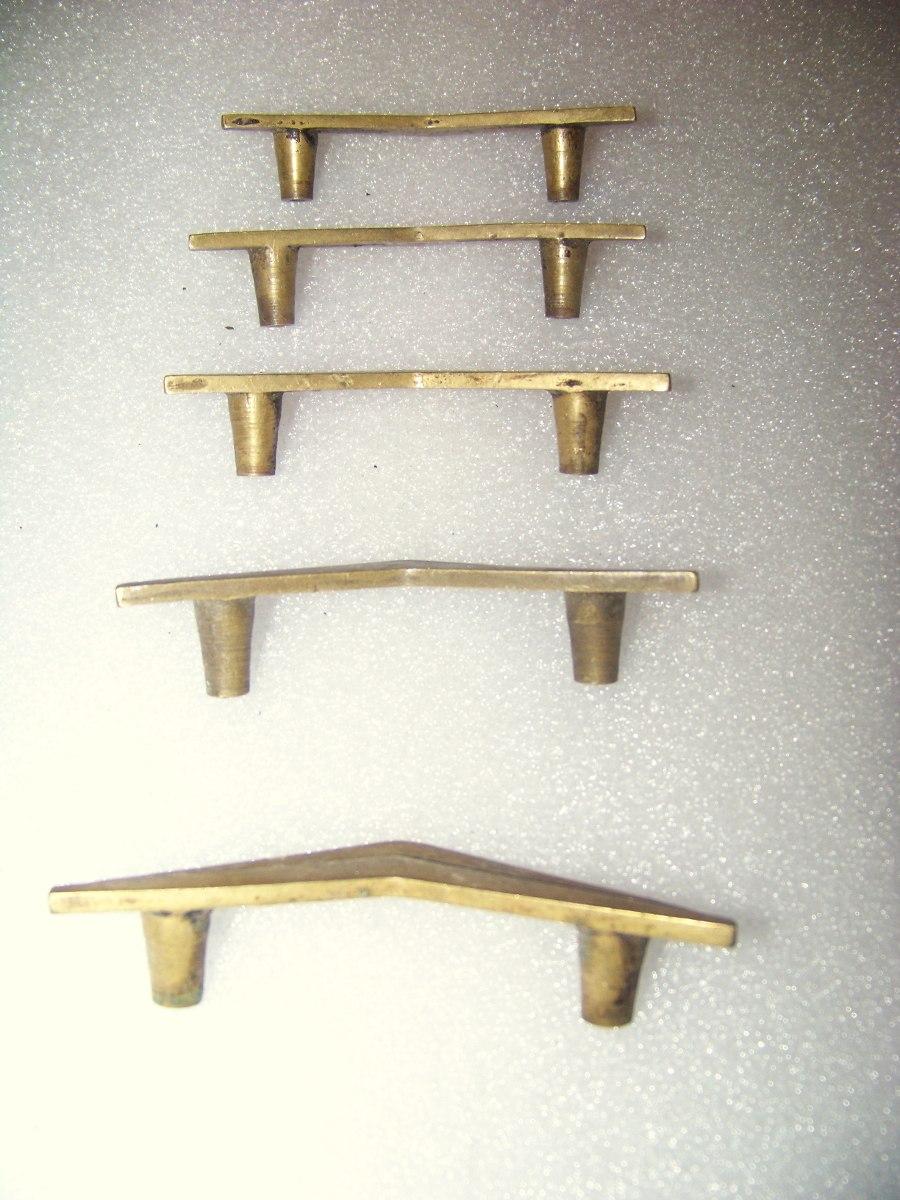 Antiguos Tiradores De Bronce En Forma De V O Ala De Avi N 43  ~ Tiradores Para Cajones Antiguos