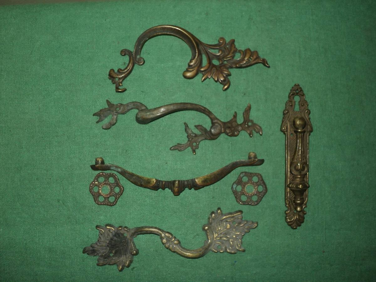 Antiguos tiradores en bronce macizo para muebles 6 - Tiradores para muebles antiguos ...