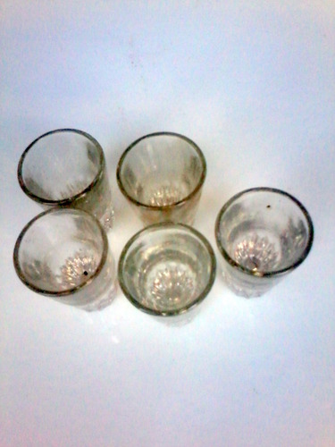 antiguos vaso de pulperia robador de ginebra