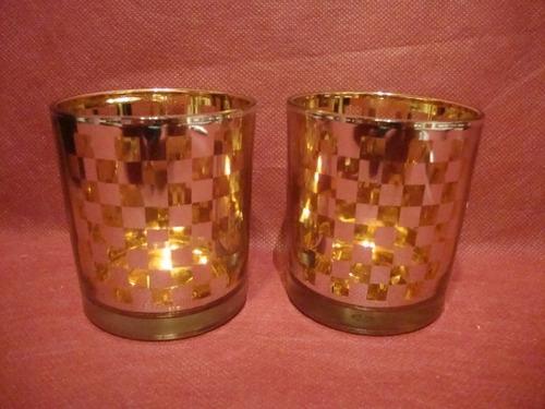 antiguos vasos de whisky de cristal sellados 6