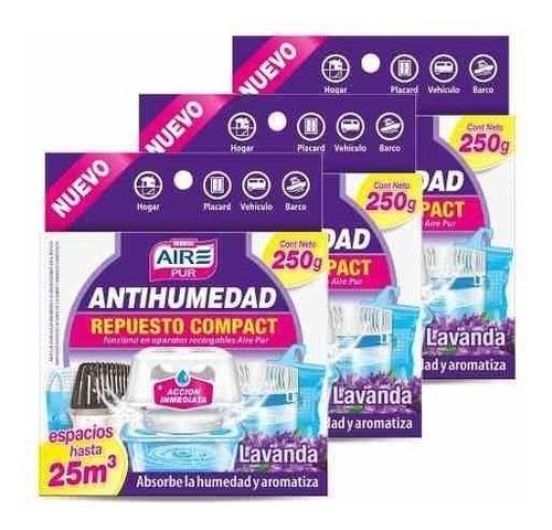 antihumedad aire pur repuesto pack x3 córdoba
