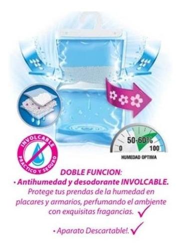 antihumedad percha aire pur con perfume lavanda pack 3un.