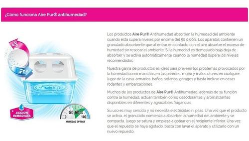 antihumedad sin perfume aire pur neutro pack 3un.