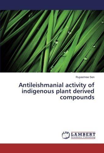 antileishmanial activity of indigenous plant derived compou