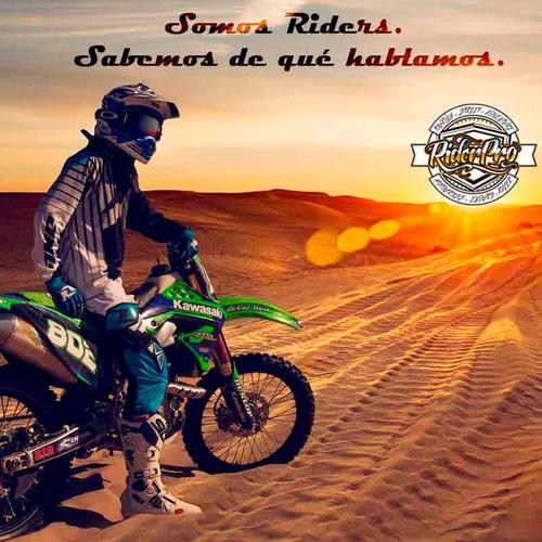 antiparra motocross dragon mdx niños chico cuatri atv