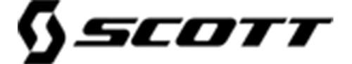antiparra motocross scott recoil xi negro/naranja avant
