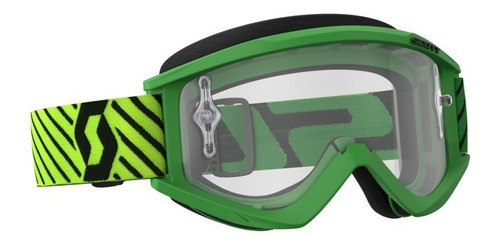 antiparra motocross scott recoil xi verde/amarillo  avant