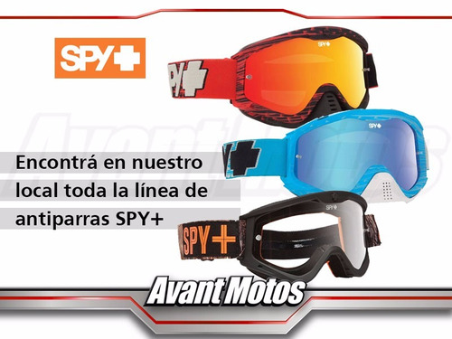 antiparra motocross spy omen high avant motos