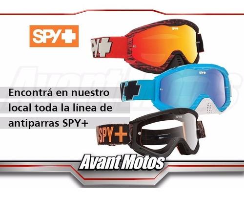 antiparra motocross spy targa 3 blanca sabbath avant motos