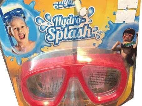 antiparras bestway pileta niños buceo con doble cristal