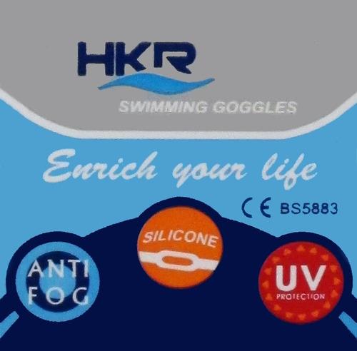 antiparras de natacion hkr - blast mirror racing - transp.