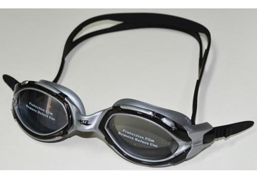 antiparras de natacion hkr - legend polarized - negro/gris