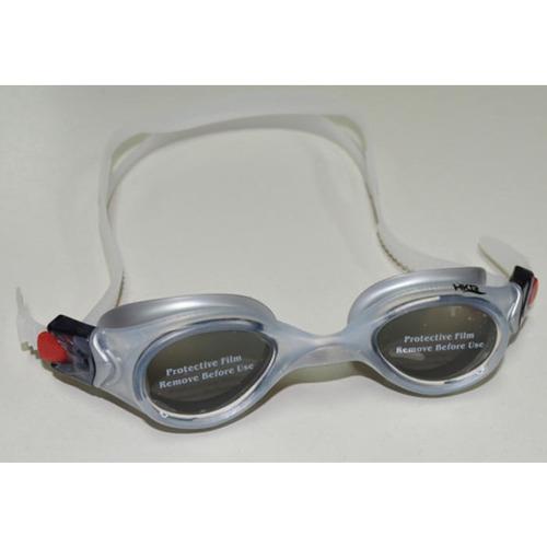 antiparras de natacion hkr - venus polarized - gris/plata