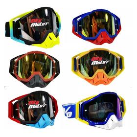 Antiparras Espejadas 100% Motocross + Visor - City Motor