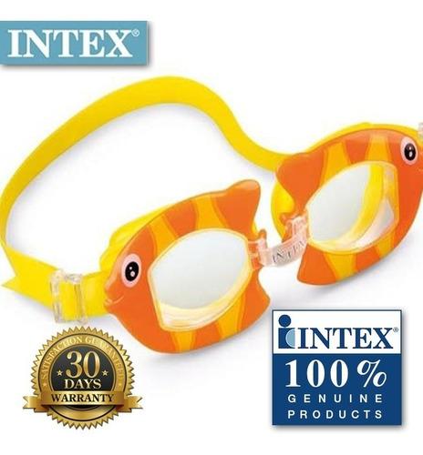 antiparras infantil animalitos intex 55603 filtro uv encadia