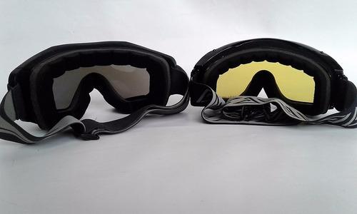 antiparras moto/sky/snow doble lente-antifog sanmiguel bikes