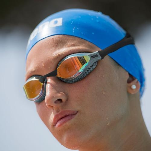 antiparras natacion arena air speed mirror espejadas antifog