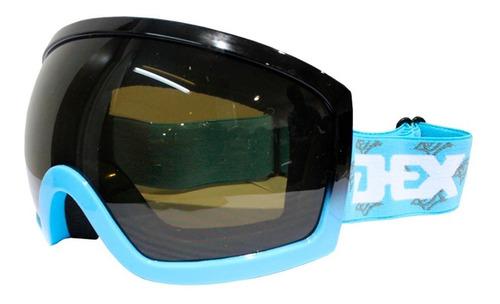 antiparras ski snowboard adultos dex yh-27 antifog uv400º