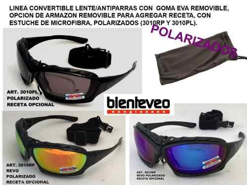 antiparras y lentes polarizadas porta aumento cuotas