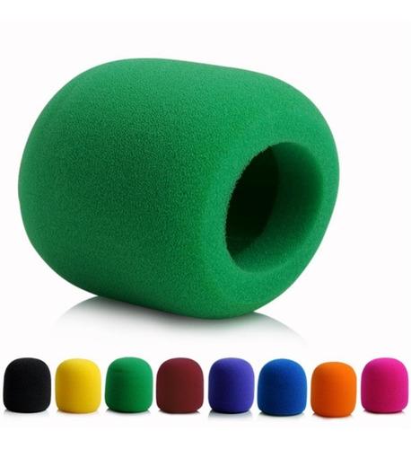 antipop esponja micrófonos vocal varios colores