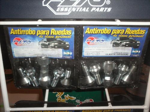 antirrobos codificados para llantas de mini cooper s. chili