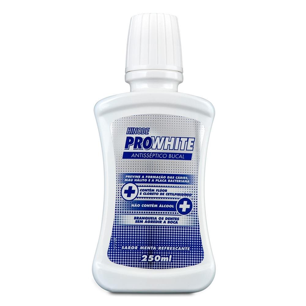 Antisseptico Bucal Hinode Pro White Clarear Dentes Brancos R 14