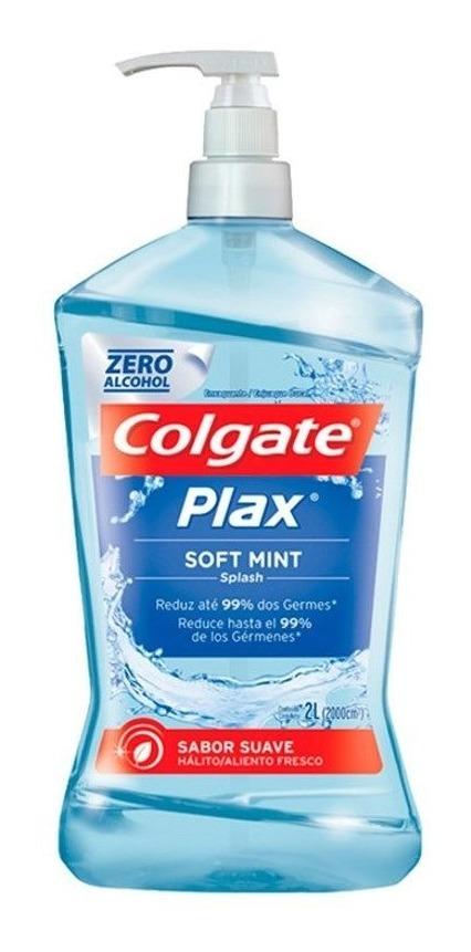 d322f1519a Antisséptico Bucal Plax Soft Mint 2 Litros- Colgate - R$ 54,99 em ...