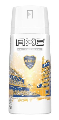 antitranspirante en aerosol axe edición limitada boca 152ml