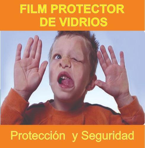 antivandalico, film de seguridad para vidrio 2m x 1,52m