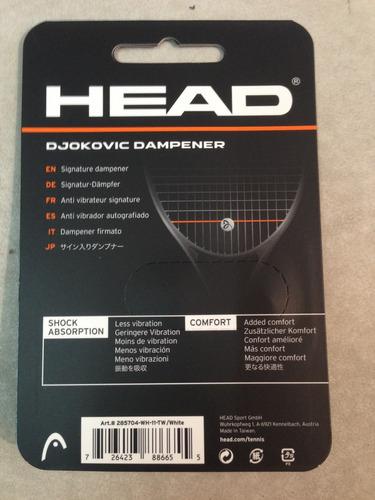antivibrador head djokovic dropshoptenis devoto oferta!!!