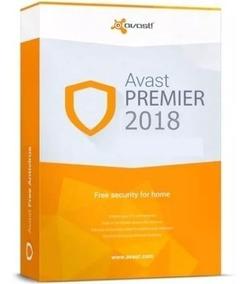 avast premier 2018 licença valida