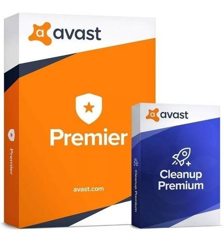 antivirus avast premier y cleanup 2020 para 15pc por 15 años
