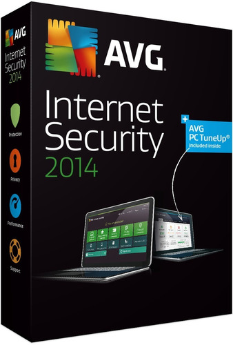antivirus avg internet security 2014 licencia 4 años oferta!
