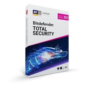 Antivirus Bitdefender Total Security 2019 -5 Usuarios, 1 Año