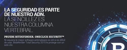 antivirus bitdefender total security 2019 5 multidisp. 1 año