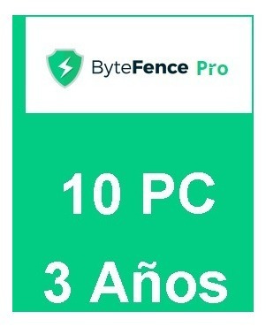 antivirus bytefence anti-malware pro 2018 5pc 3 años.
