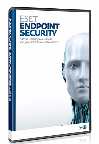 antivirus eset endpoint security 1 servidor + 10 pc - 1 año