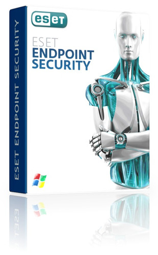 antivirus eset endpoint security 3 años x 1 servidor + 50 pc