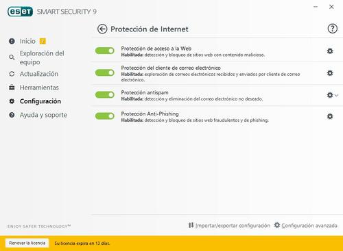 antivirus eset internet security  multidevice pc+android+mac