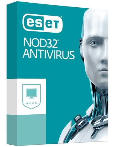 antivírus eset nod32 10 2pc 1ano - português® envio grátis