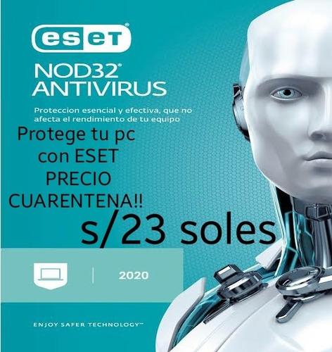 antivirus eset nod32 original, licencias/año
